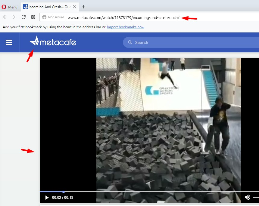 Convert and download from Metacafe valid link.